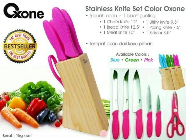 Pisau Dapur/Peralatan Dapur/Stainless Knife Oxone