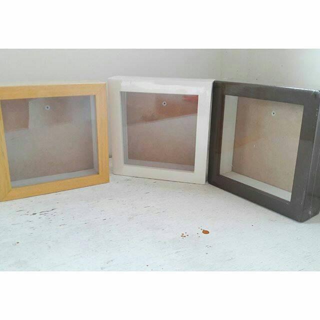 harga 3d frame scrapbook frame clay decoupage kotak kaca paper quilling Tokopedia.com
