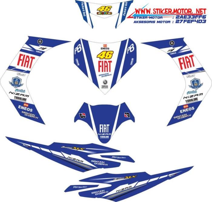 harga Sticker striping motor yamaha jupiter mx fiat fb spec b Tokopedia.com