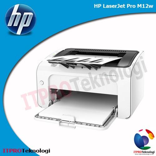 harga Hp laserjet pro m12w - wireless laser printer Tokopedia.com