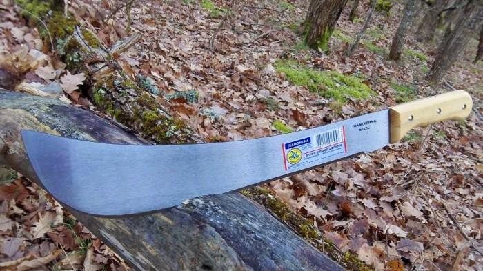 harga Golok survival panga tebas tramontina 16 inchi gagang kayu asli brasil Tokopedia.com