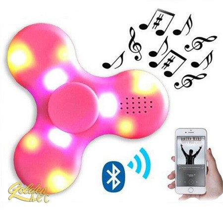 harga Fidget spinner led mini bluetooth speaker music Tokopedia.com