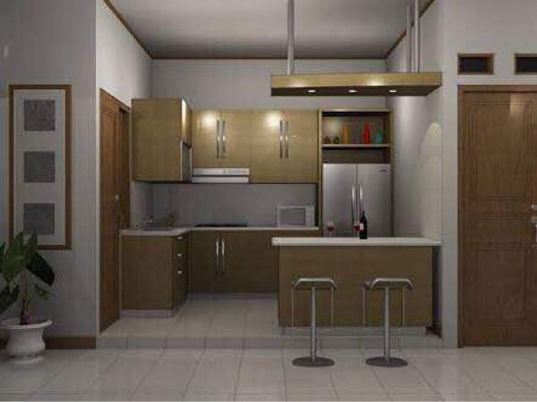 Jual Kitchen Set Dan Mini Bar Minimalis Kota Tangerang Lucy Interior Tokopedia
