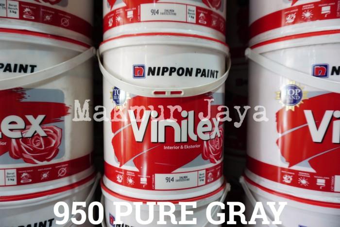 harga Vinilex 950 pure gray tinting cat tembok interior eksterior warna Tokopedia.com
