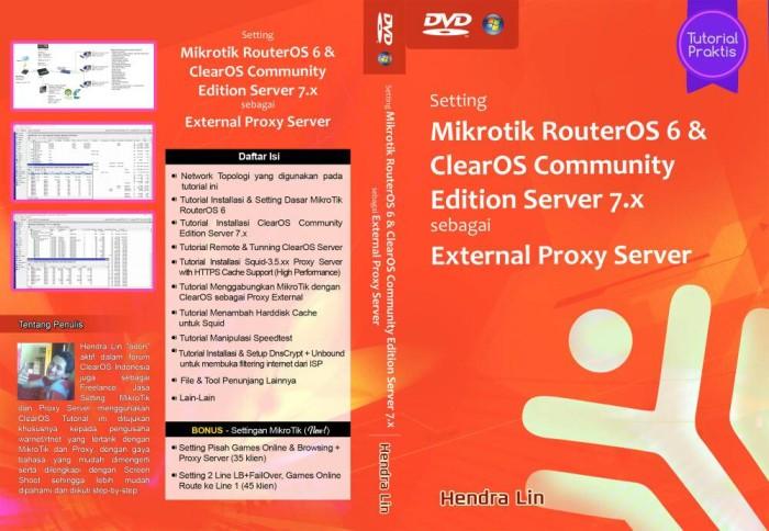 Jual Tutorial Praktis Setting Mikrotik RouterOS 6 & ClearOS 7 - Kota  Palembang - ITComm | Tokopedia