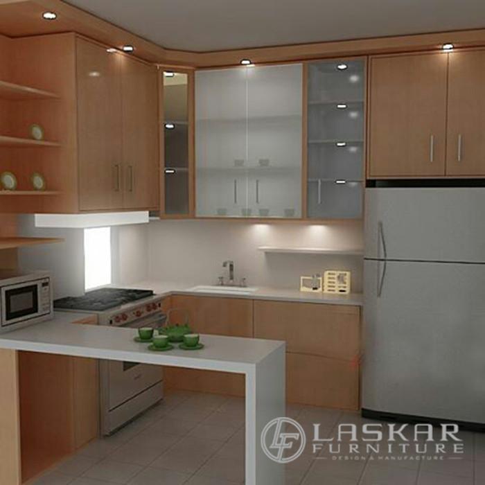 Jual Kitchen Set Minimalis Modern Lemari Dapur Kab Jepara Laskar Furniture Tokopedia