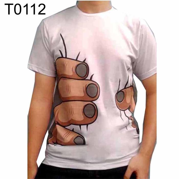 Jual T0112 Kaos Kotak Kaos Gambar Unik Kaos 3d Kaos Lucu Kaos Mode