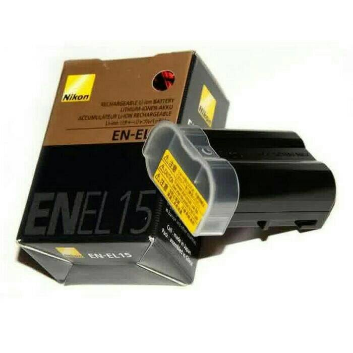 harga Baterai /battery / batre nikon kamera en-el15 for d610 Tokopedia.com