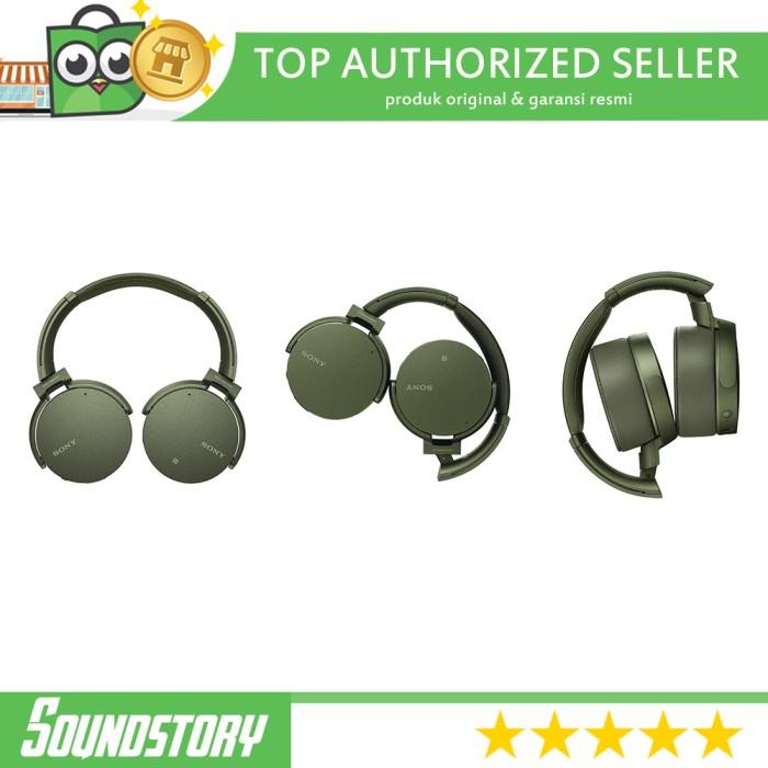 Sony MDR XB950N1 Extra Bass Wireless Noice Cancelling Headphone Ori - Hitam