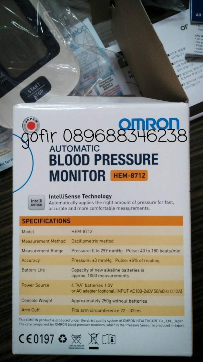 Jual Tensimeter Digital Omron Hem 8712 Alat Ukur Tensi Tekanan Darah Blood Pressure Monitor Kesehatan