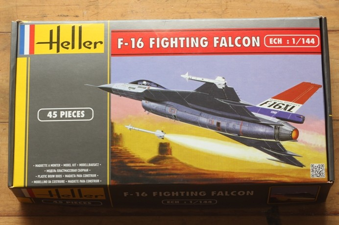 Foto Produk Mokit Heller 1/144 F-16XL plus Liliput Airforce ACES II dari rumahmokit