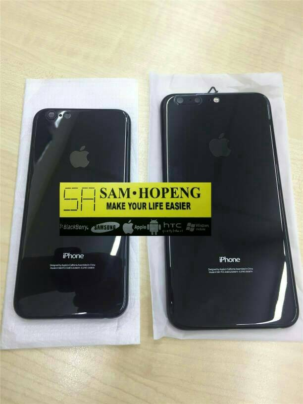 Jual Housing Casing Backdoor iPhone 5   5s model iPhone 7 Jet Black ... 6317ea6845