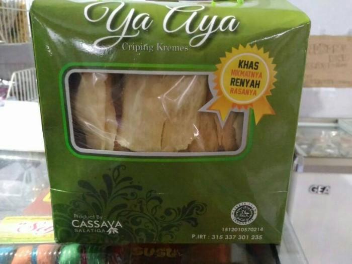harga Criping kremes ya aya cassava 500 gram singkong presto salatiga Tokopedia.com