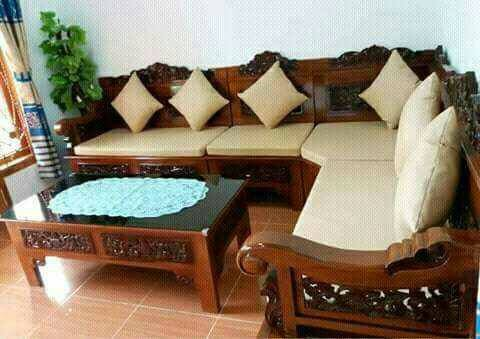 Jual Kursi Sudut Jati L Bagong Sofa Jati Kab Jepara Fiamebel