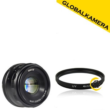 Meike 35mm f1.7 aps-c for sony e-mount free lens filter