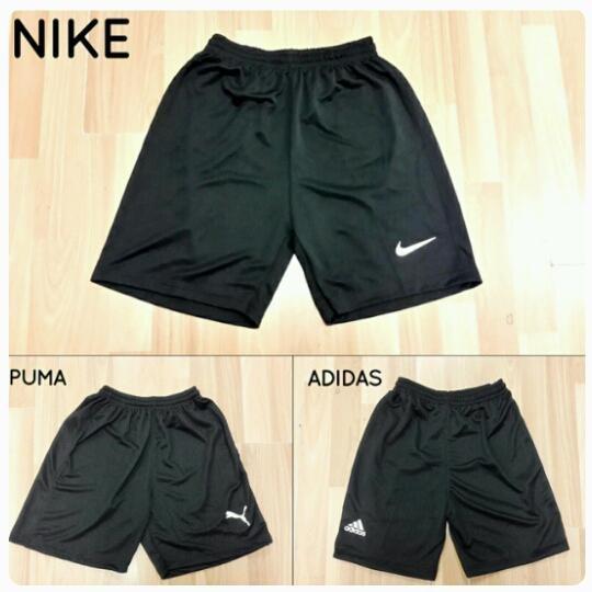 harga Celana Training Olahraga Pendek Hitam Big Size Xxl Adidas Nike Puma Tokopedia.com