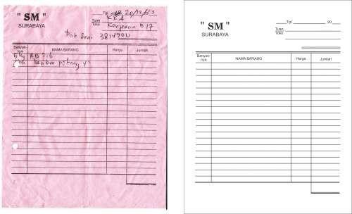 Jual Nota Penjualan Barang Kota Surabaya Mitra Media Persada Tokopedia