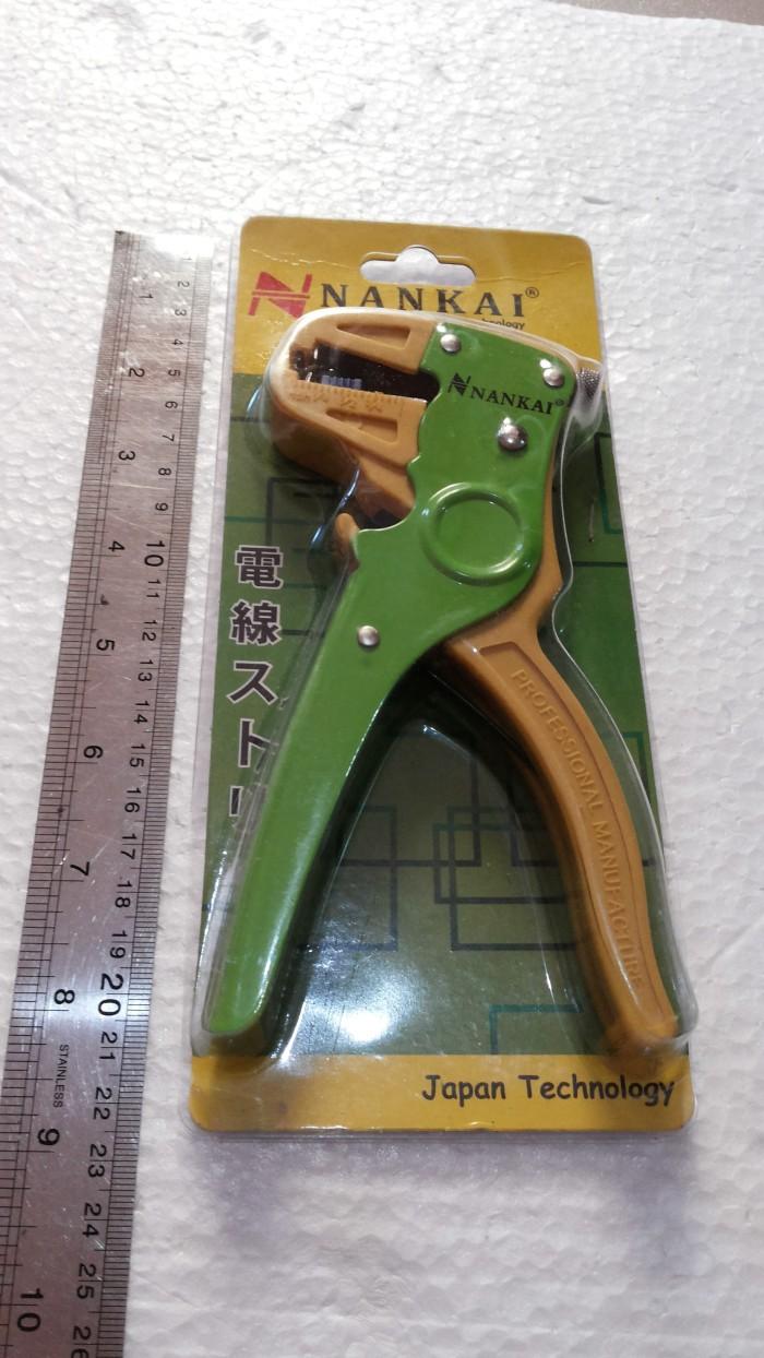 Wire Stripper Tang Kupas Kabel Model F Nankai