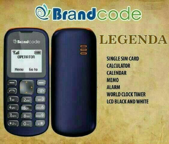 Brandcode b1 legenda mirip nokia 103