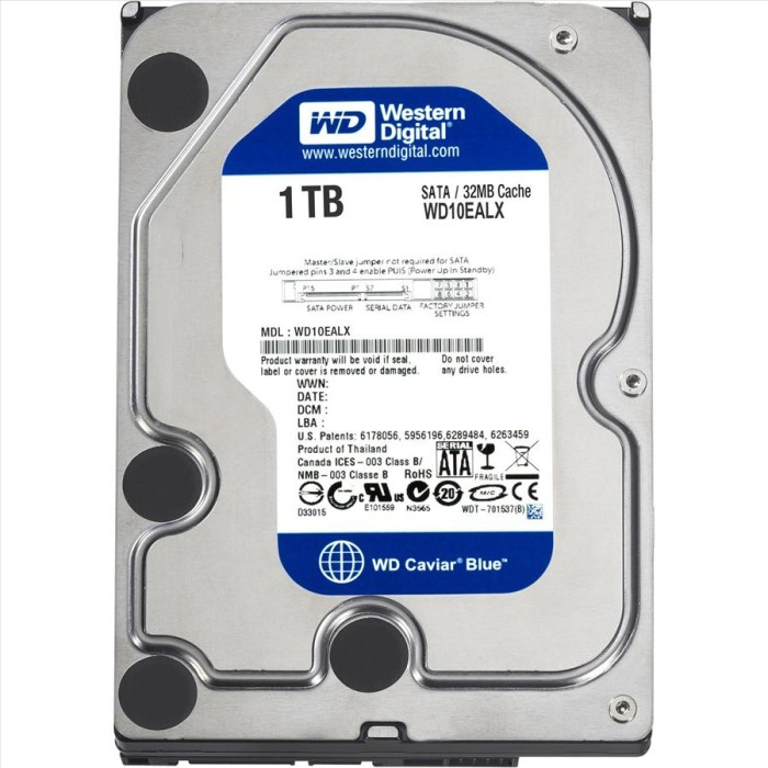 harga Hardisk wd blue 1 tb desktop internal hard disk 3.5 inch Tokopedia.com