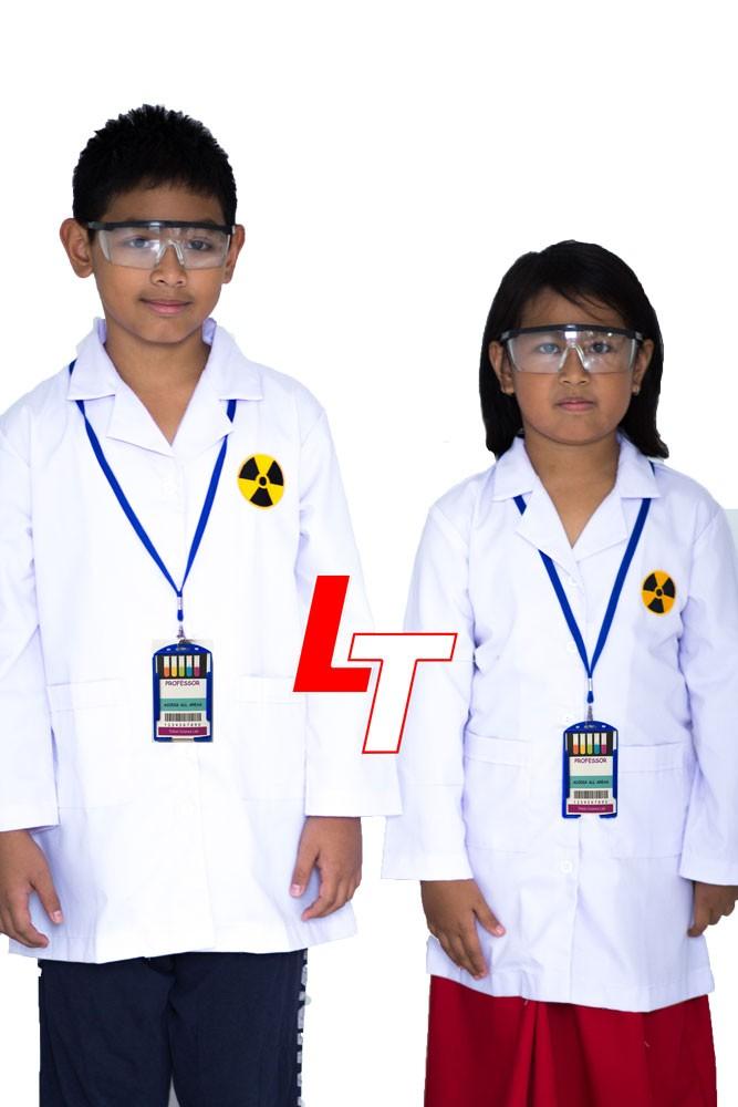 harga Kostum jas lab anak uk 9 (9-10 tahun) +kacamata +name tag Tokopedia.com