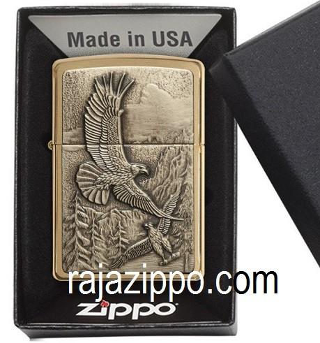harga Zippo Original Usa 20854 Where Eagles Dare Emblem - Stok Lengkap Resmi Tokopedia.com
