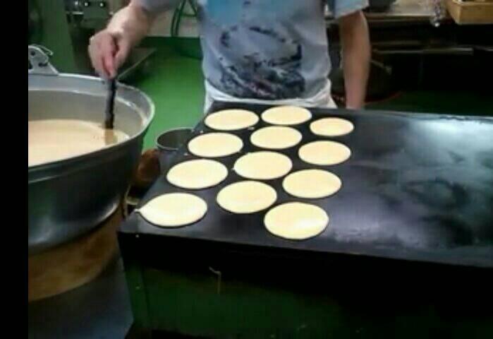 Kompor Panggang Roti Burger Dorayaki Wajan Bakar 40 1000