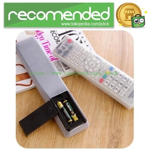 ... harga Sarung silikon remot kontrol tv ac - transparent Tokopedia.com