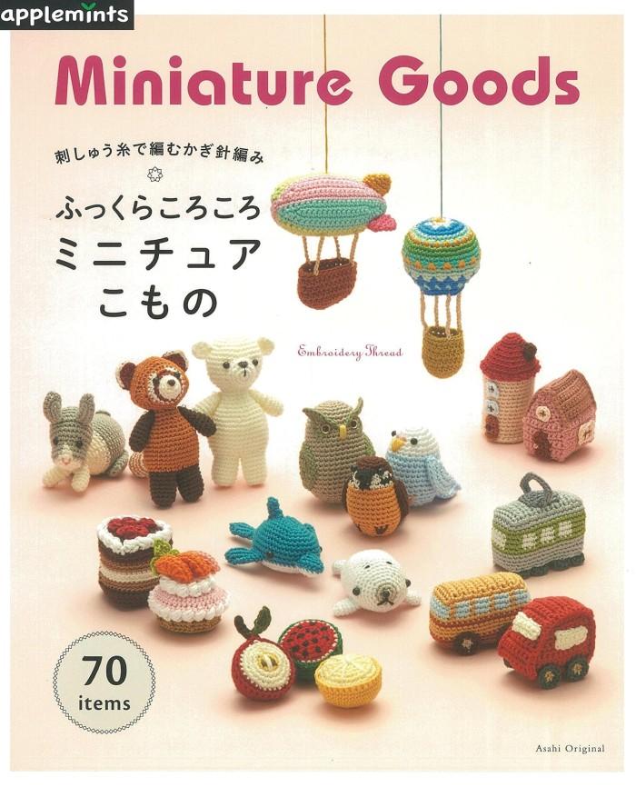 harga Amigurumi miniature goods - buku crochet / rajut jepang Tokopedia.com