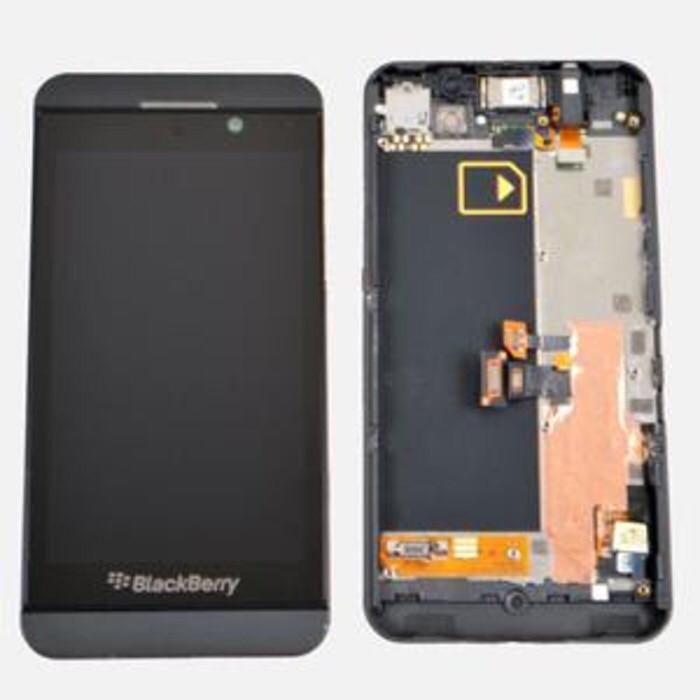 harga Lcd + bezel blackberry bb z10 3g sim atas original Tokopedia.com