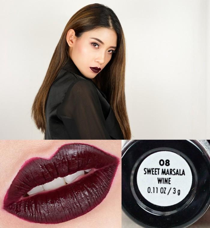 App Perfume Source · Jordana Sweet Cream Matte Liquid Lip Color SWEET MARSALA WINE