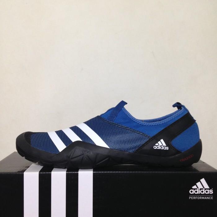 Jual Sepatu Outdoor Adidas Climacool Jawpaw Slip On Blue BB5445 ... dfb07627ba