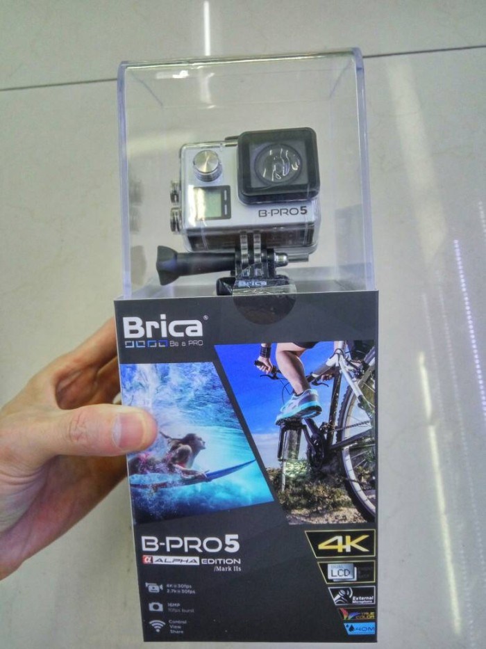harga New brica alpha edition 4k mark iis with mic ext Tokopedia.com