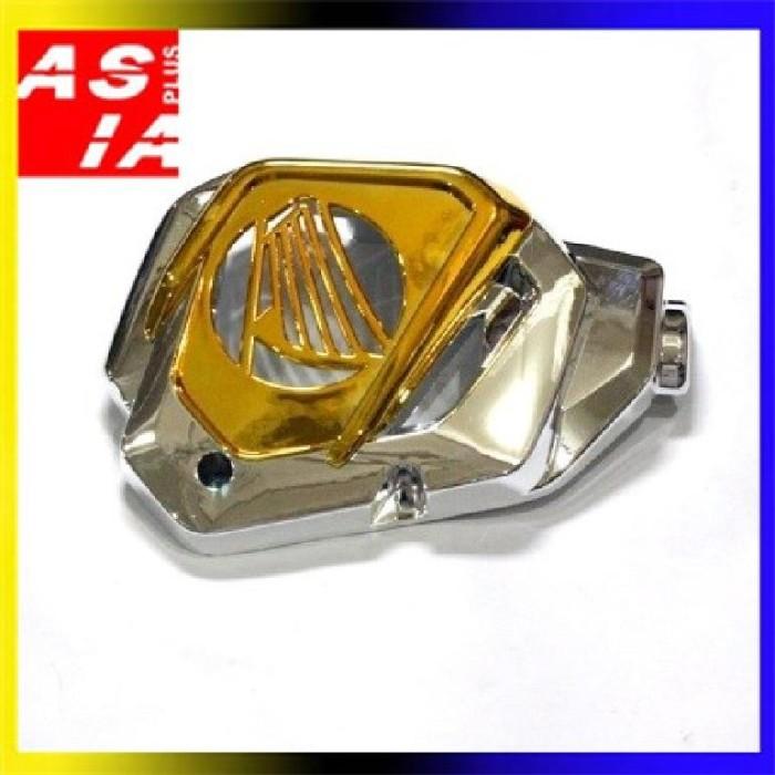 harga Variasi tutup radiator aksesoris motor honda vario 125 gold crom Tokopedia.com