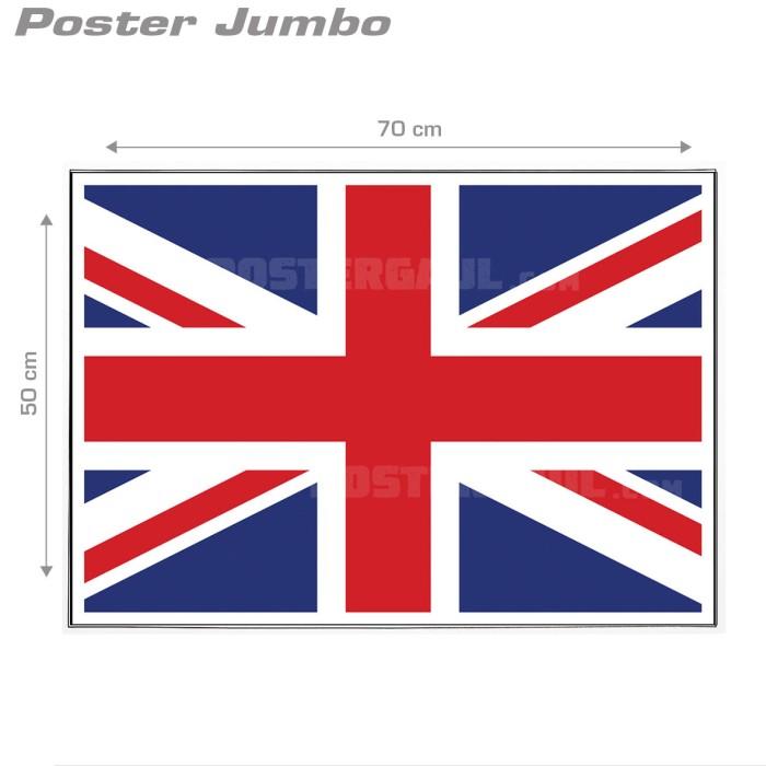 jual poster bendera inggris jumbo size 50 x 70 cm jakarta barat poster gaul tokopedia