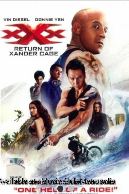 Jual Dvd Film Xxx Return Of Xander Cage 2017 Imported Vin Diesel Donnie Y Kota Tangerang Music Club Tokopedia