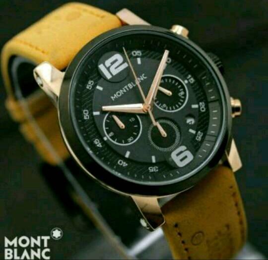 Jam tangan pria Montblanc elegant sporty