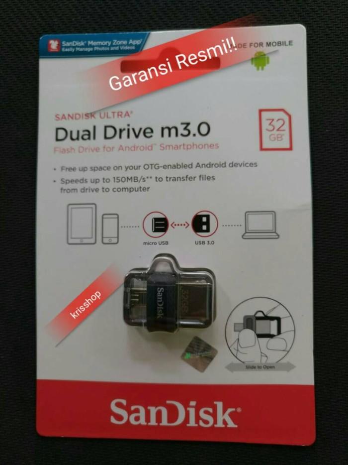 Original Sandisk OTG 32GB m3.0 USB 3.0 Ultra dual USB Drive OTG flash