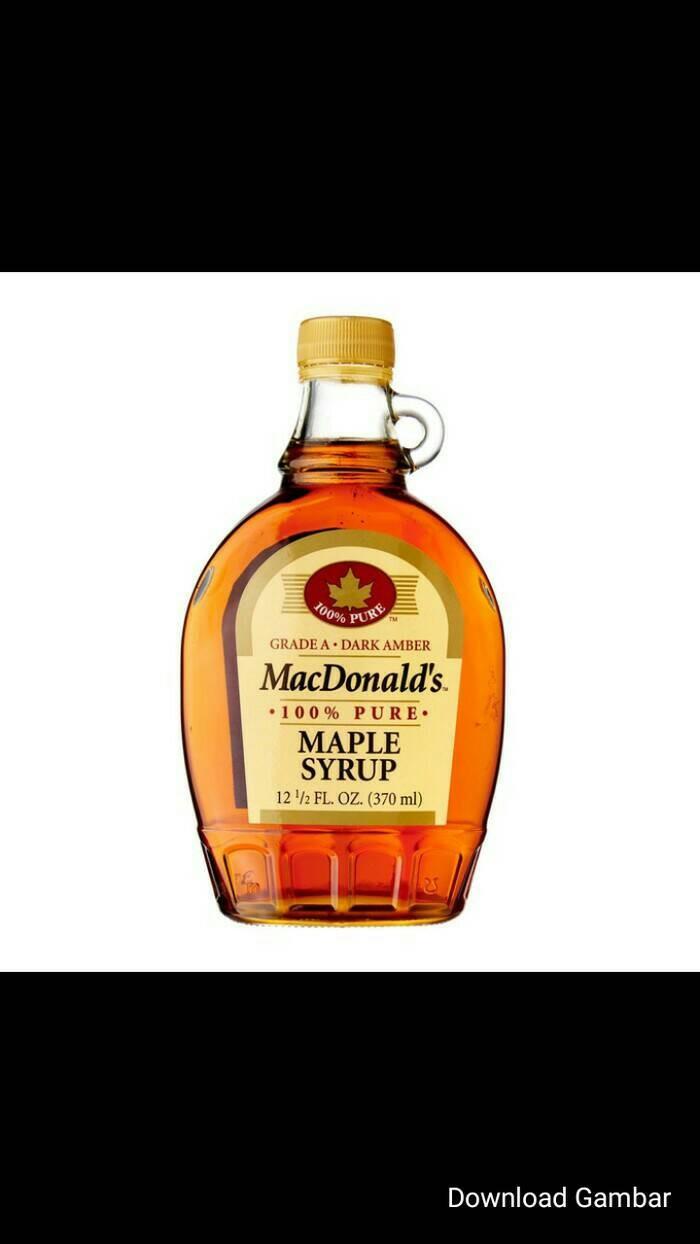 harga Macdonald's 100% maple syrup 370ml-sirup maple import Tokopedia.com
