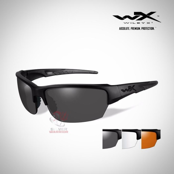 8a96ee8a5f Jual WILEY X SAINT 3 Lens Package (GREY CLEAR RUST LENS MATTE BLACK ...