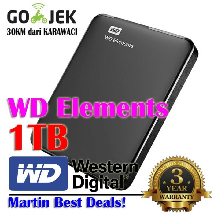harga Wd elements 1tb | 2.5 inch usb 3.0 | element 1 tb Tokopedia.com