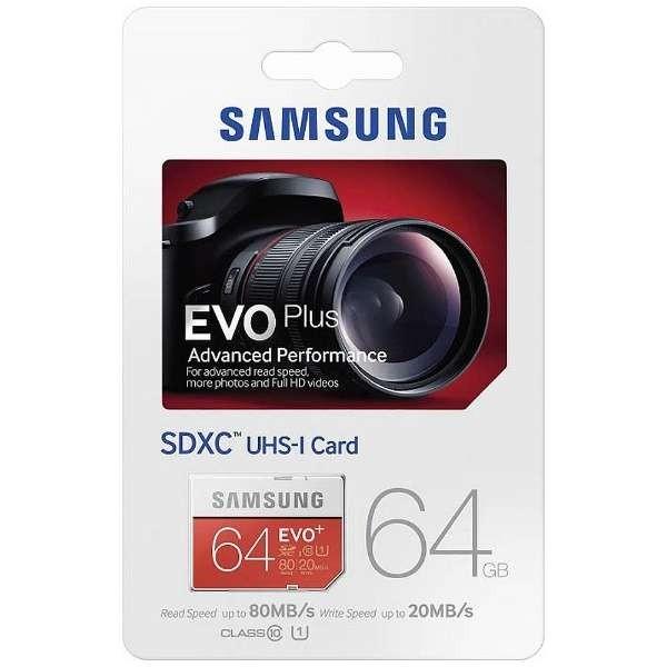 harga Original samsung evo plus 64gb / 80mbps sdxc card Tokopedia.com