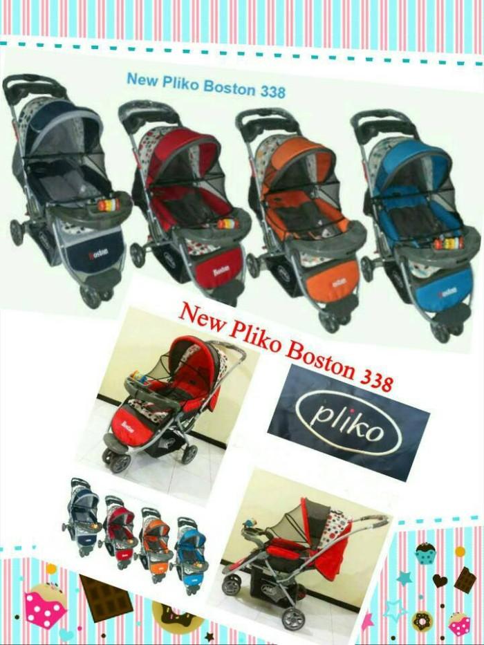 harga Gojek pliko boston roda tiga dorongan kereta bayi baby stroller Tokopedia.com