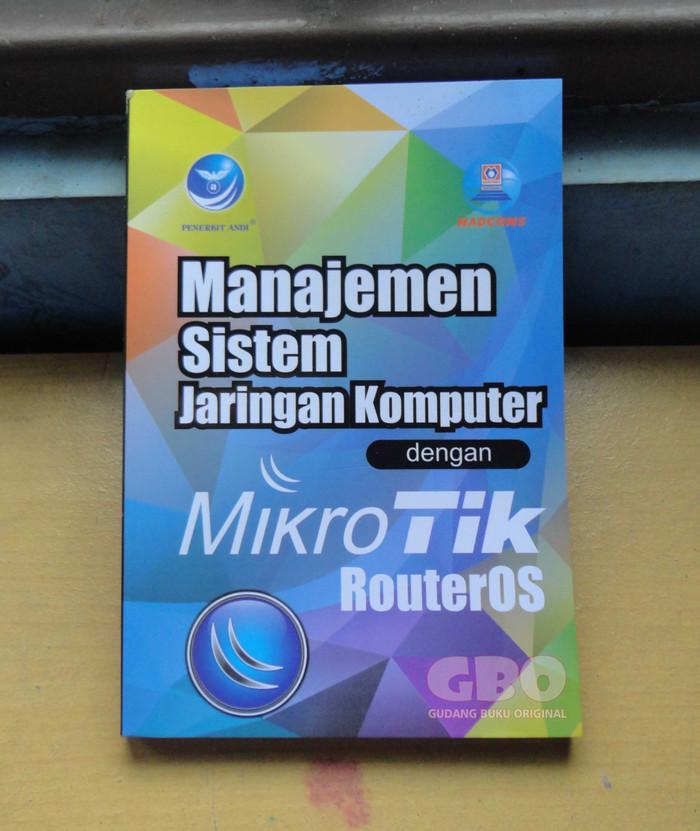 harga Manajemen sistem jaringan komputer dengan mikrotik routeros Tokopedia.com