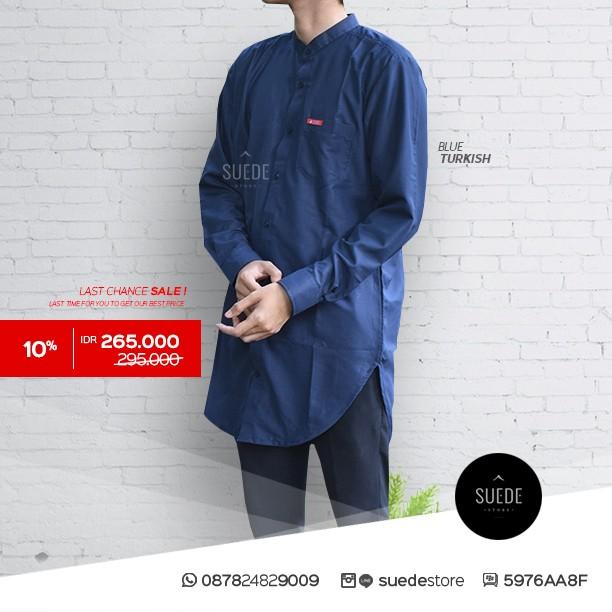 Gamis Pria Jasko Source · Busana muslim pria baju kemeja koko modern minimalis .