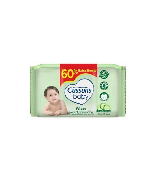 harga Cussons baby wipes 50s (buy 1 get 1) hijau / tisu basah cussons Tokopedia.com