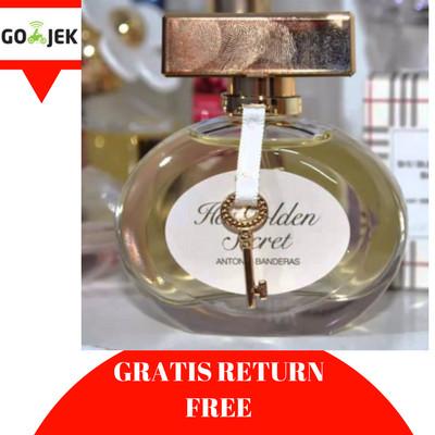 Jual Parfum Wanita Original Ori Reject Antonio Banderas Her Golden