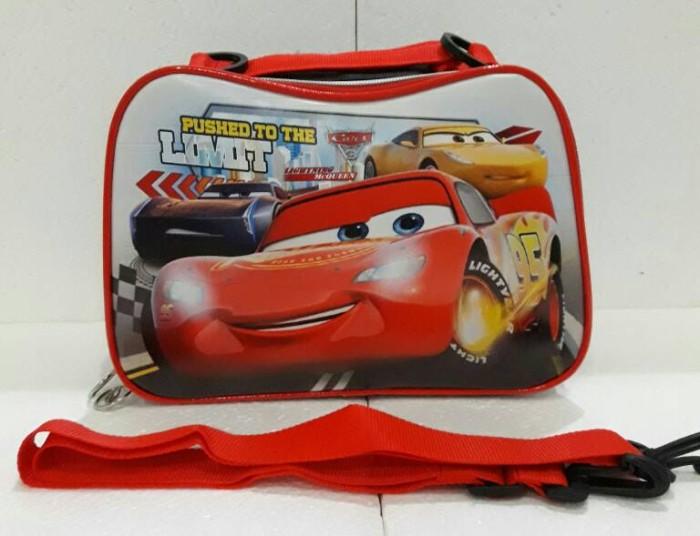 harga Lunch bag/tas bekal selempang /ransel anak cars mcqueen aluminium foil Tokopedia.com
