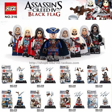 Jual Lego Kw Ksz Assassin S Creed Iv Black Flag Kota