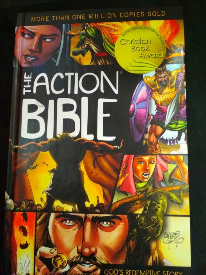 harga The action bible (hc) Tokopedia.com